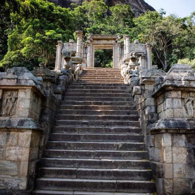 A voir Sri Lanka - Yapahuwa