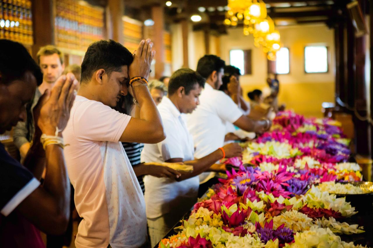 A voir Sri Lanka - temple de Kandy