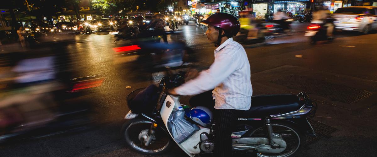 En scooter à Ho Chi minh (2)