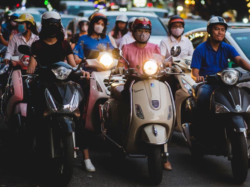 En scooter à Ho Chi minh (3)