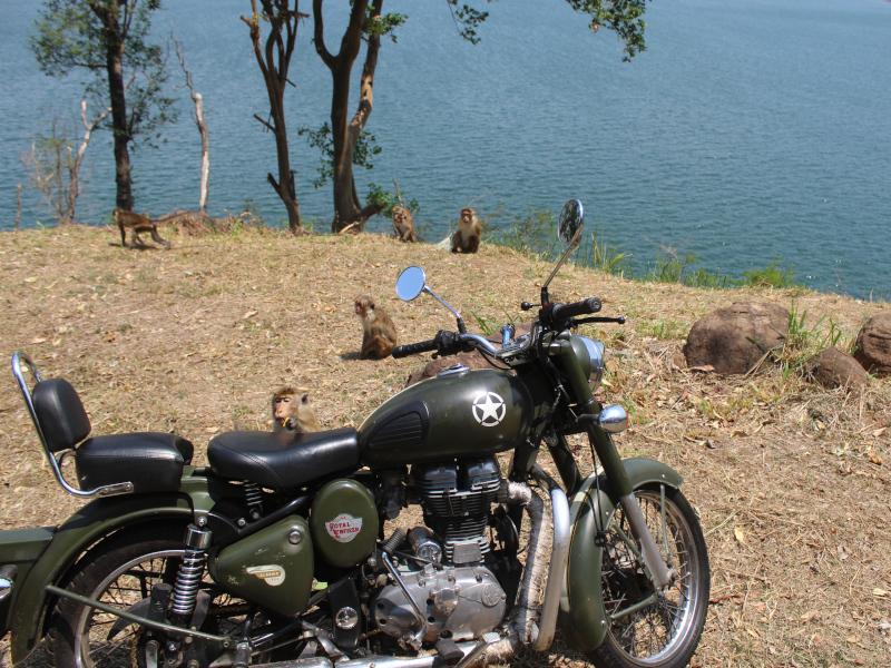 circuit moto au Sri Lanka