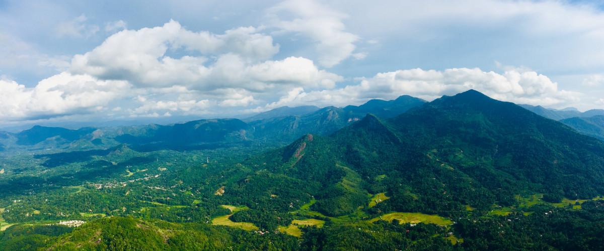 Massif des Knuckles au Sri Lanka