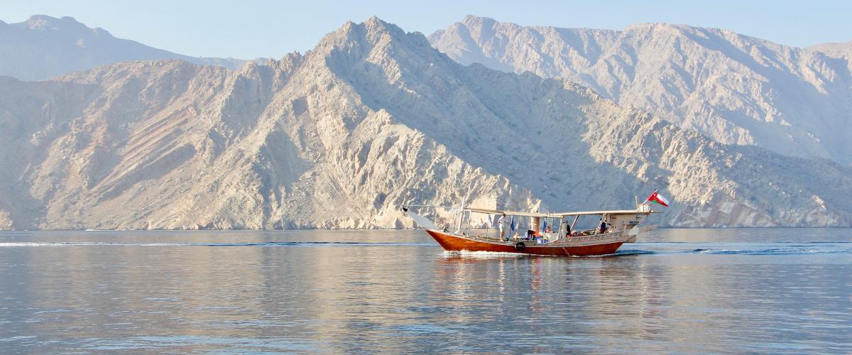 croisiere fjord Oman