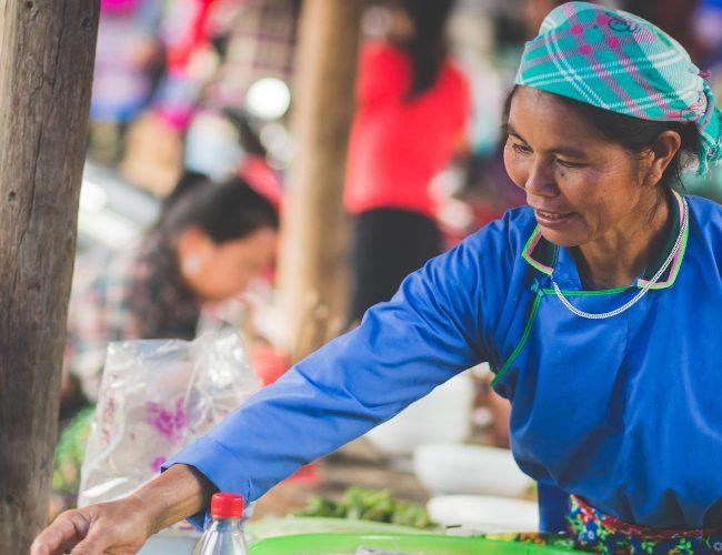 marché ethnique Hmong