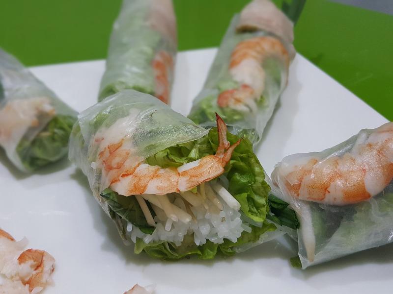 cuisine vietnamienne rouleau de printemps