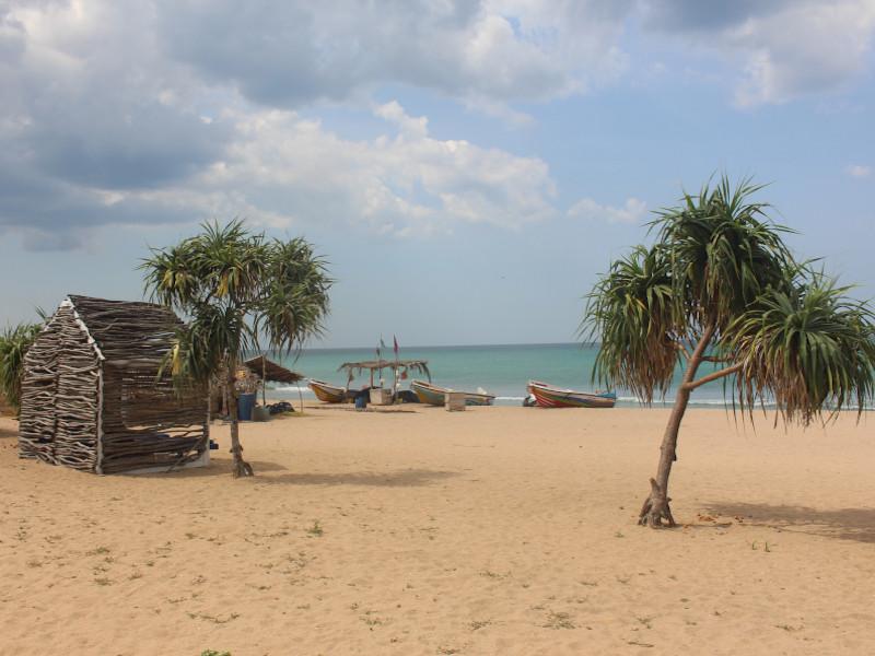 plage côte est sri lanka